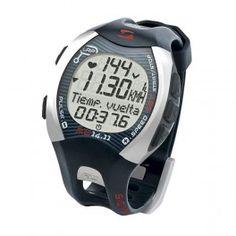 Pulsómetro con podómetro cuentakilómetros para andar y correr running Sigma Sport RC 14.11 con conexión PC MAC color negro