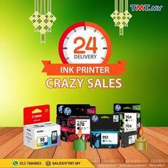 15 Jul-31 Aug 2016: Thunder Match Technology Ink Printer Crazy Sales