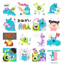 Monster University, Monsters Inc, Disney Pixar, Kids Rugs, Stickers, Home Decor, Monster Inc Party, Cards, Decoration Home