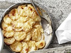 Potato and Celery-Root Gratin with Gouda