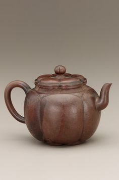 Teapot, Chinese, Yixing ware, Ming Dynasty