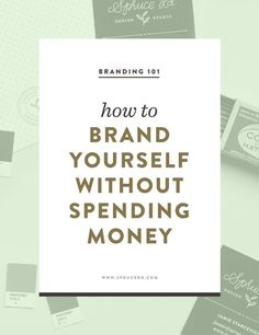 brand yourself without spending money — Spruce Rd. How to brand yourself without spending money Personal Branding, Branding Your Business, Marca Personal, Business Marketing, Creative Business, Business Tips, Online Business, Content Marketing, Corporate Branding