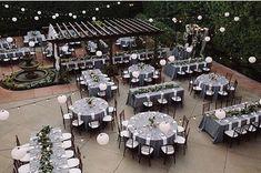 A Franciscan Garden Fairy Tale — OC Wedding Planner ~ Weddings By Cortney Helaine Franciscan Gardens, Backless Gown, Wedding Planner, Fairy Tales, Table Decorations, Centre, Oc, Tables, Weddings