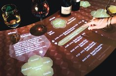 Have your clientele peruse through your menu in a high resolution interactive experience. Interactive touch screen menu system for restaurant interior design