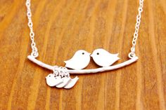 Mother+Necklace++silver+baby+mom+of+triplets+mom+by+MegusAttic,+$35.00