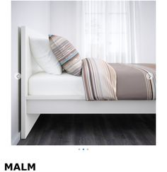 ikea malm bed frame high lury adjustable bed sides allow you to use mattresses of different slats of layerglued birch adjust to your body weight
