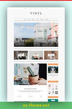 Vinyl is a clean and minimal WordPress blog theme. Vinyl has a minimalistic layout that focuses on simplicity and readability. Easy installation allows you to start post blogs immediately after the activation. The theme-supported Customizer allows you to customize and change the design of your blog. Vinyl is the perfect choice for your personal blog, corporate blog, marketing blog, authority blog or any type of creative blog.