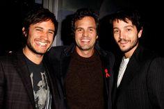 Gael Garcia Bernal, Mark Ruffalo e  Diego Luna no 32nd Annual Toronto International Film Festival - 2007.