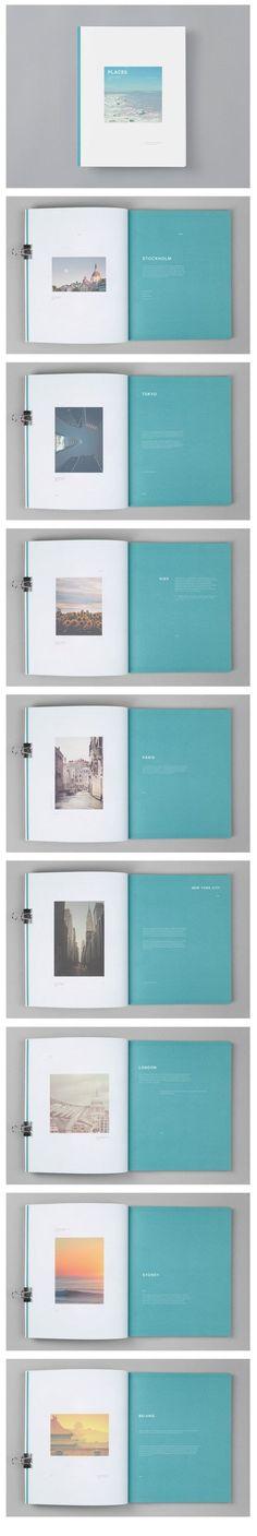 Super Ideas For Travel Book Layout Design Simple Graphic Design Agency, Graphic Design Layouts, Book Design Layout, Print Layout, Photo Book Design, Editorial Design, Editorial Layout, Beauty Editorial, Design Food
