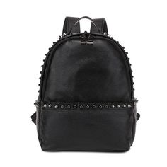 Comprar mochilas en línea bolsos de cuero pequeña marca para mujer con remaches [VL10471] - €58.92 : bzbolsos.com, comprar bolsos online