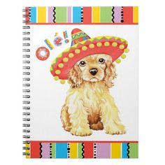 Fiesta Cocker Spaniel Notebook   cocker spaniel art, american cocker spaniel puppies, cocker spaniel drawing #cockerspanielshirt #cockerspanielnetwork #cockerspanielnation, back to school, aesthetic wallpaper, y2k fashion Black Cocker Spaniel Puppies, American Cocker Spaniel, Beagle Dog, Custom Notebooks, Lined Page, Aesthetic Wallpapers, Dog Love, Pugs, Funny Memes