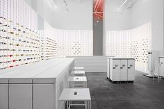 eyewear shop design - Cerca con Google