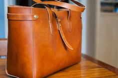 Horween Tote – Jacobson Leather