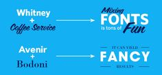 Which Font Is Your Type? | Blue Wheel Media