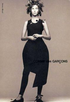 Comme de Garcons, Fall1988, photograph by Steven Meisel