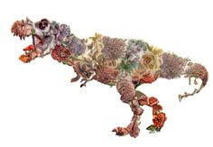 Artificial Intelligence Turns A Book Of Flowers Into Surprisingly Lovely Dinosaur Art I guess the common thread in all of this is the idea not of using new tech to tell stories, but of using tech to tell new stories Dinosaur Tattoos, Artificial Neural Network, Artificial Intelligence Technology, Dinosaur Art, Computer Art, Jurassic World, Jurassic Park, Nature Crafts, Fine Art Gallery
