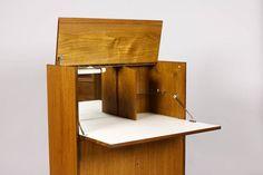 Danish Modern / Mid Century Compact upright Bar by atomicthreshold