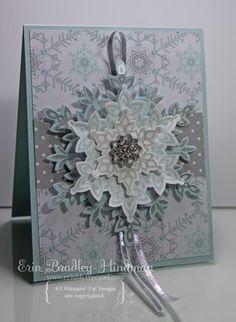 Stampin' Up Snowflake Card