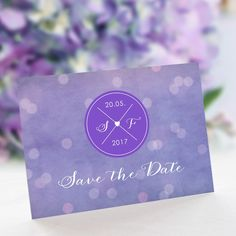 Save the Date Karte Hochzeit Lichterglanz: https://www.meine-hochzeitsdeko.de/save-the-date-karte-hochzeit-lichterglanz