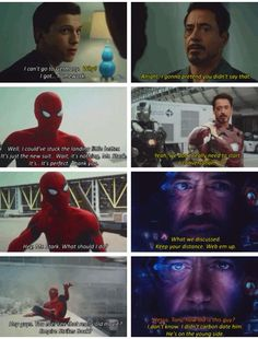 Tony is 1000% done in the last frame