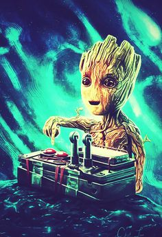 GUARDIANS OF THE GALAXY GROOT.
