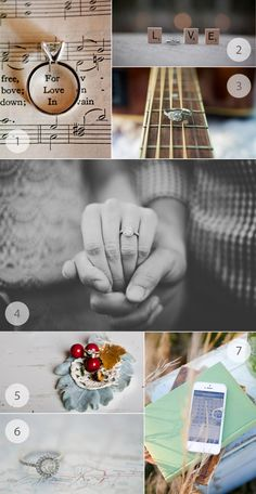 creative #engagement ring photograph ideas!  #wedding