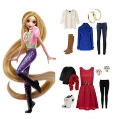 """""""Fairy Tale High fans! Have you entered my Sweepstakes yet?"""" - Teen Rapunzel"""