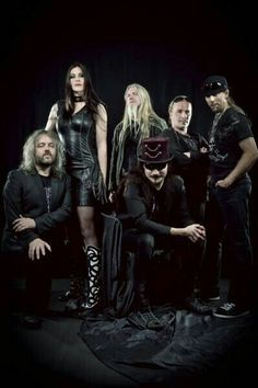 Nightwish with Floor Jansen as Front Lady.