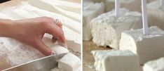 How to Make Marshmallows That Are So Healthy You Can Eat as Many as You Want Marshmallows are regarded as a staple for Thanksgiving classics, camping trips, desserts, and hot cocoa. Although this food is f. How To Make Marshmallows, Recipes With Marshmallows, Homemade Marshmallows, Yummy Treats, Sweet Treats, Yummy Food, Toasted Marshmallow, Paleo Dessert, Recipes