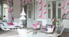 Designers Guild Shanghai Gardens fabric and wallpaper collection