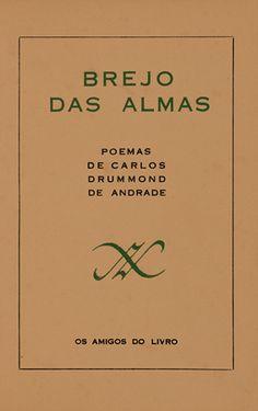 Carlos Drummond de Andrade. Capa Brejo das Almas (1934)