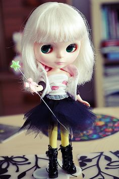 Blythe Vanilla by Agata Poniatowska, via Flickr