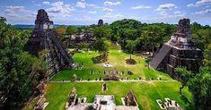 Mayan Ruins at Tikal, Guatemala World Most Beautiful Place, Beautiful Places To Visit, Cool Places To Visit, Belize Tours, Belize City, Tikal, San Ignacio Belize, Belize Vacations, Mayan Cities