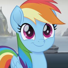 #1643147 - cropped, cute, dashabetes, edit, edited screencap, my little pony: the movie, pegasus, pony, rainbow dash, safe, screencap, smiling, solo, spoiler:my little pony movie - Derpibooru - My Little Pony: Friendship is Magic Imageboard