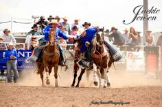 Joe Blankenship and Brad Marshall picking up the Miles City Bucking Horse Sale. 2013 Photo credits go to Jackie Jensen. http://www.jackiejensenphotography.com/