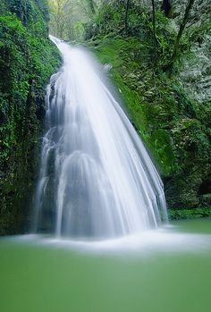 Shirabad Waterfall - Kanbebin - Gorgan - Golestan province - Iran(Persian: آبشارشیرآباد- خان ببین- گرگان -گلستان) Photo by Ali Shakori