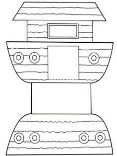 Noah's ark template