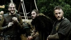 New Favorite Show # THIS SHOW IS...   Vikings :: History Channel :: Floki (Gustaf Skarsgard), Rollo (Clive Standen), Ragnar Lothbrok (Travis Fimmel)