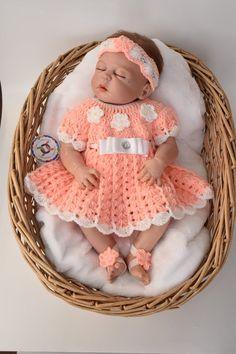 Baby Crochet Patterns Crochet Baby Dress Pattern baby | Etsy Pattern Baby, Crochet Baby Dress Pattern, Crochet Bebe, Baby Girl Crochet, Crochet Baby Clothes, Crochet Shoes, Easy Crochet Patterns, Knit Baby Dress, Baby Patterns