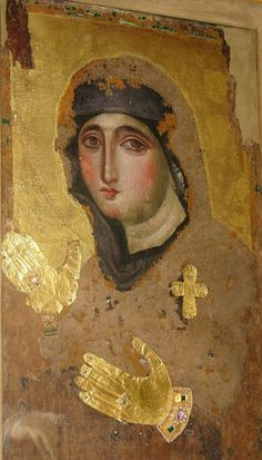 Originally from Constantinople, this 7th century icon is currently kept at the Santa Maria del Rosario a Monte Mario in Rome