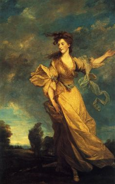 LADY JANE HALLIDAY BY SIR JOSHUA REYNOLDS 1779...I think if I were painted I would want to look like this-with a quiver of arrows in one hand and a bow in the other.