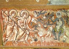 Unknown Artist. Sinners in Hell 02. Cattedrale di Santa Maria Assunta. Torcello (Italy). 12th century)