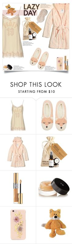 """Untitled #1564"" by sibanesly ❤ liked on Polyvore featuring Puma, Charlotte Russe, Hollister Co., Yves Saint Laurent, Estée Lauder, Dolce&Gabbana, Nat & Jules, Fabulous-Furs and LazyDay"
