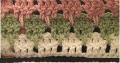 Larksfoot Crochet Stitch by Crochet Geek