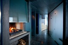 Note height ? concrete? Since western Norway's temperatures can dip to below zero degrees Celsius in the winter, every pod has heating and a fireplace to keep guests toasty.