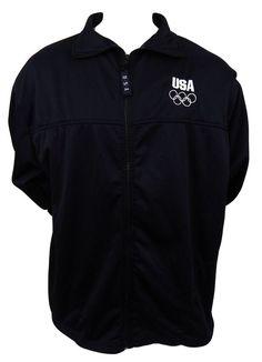 US Olympic Committee Embroidered Lightweight Fleece Jacket Size 3XL Olympics #USOlympicComittee #FleeceJacket #Jacket