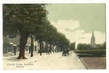 Witney - a colour printed postcard of Church Green, Eastside