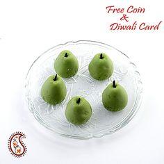 Stuffed Kajoo Pears with Free Laxmi Ganesh Coin