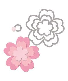 Take a look at this Flowers #3 Framelits Die Set by Sizzix on #zulily today!