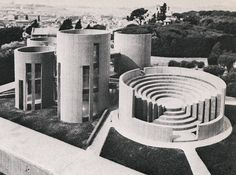 Sulmona Social Center, by Paolo Portoghesi